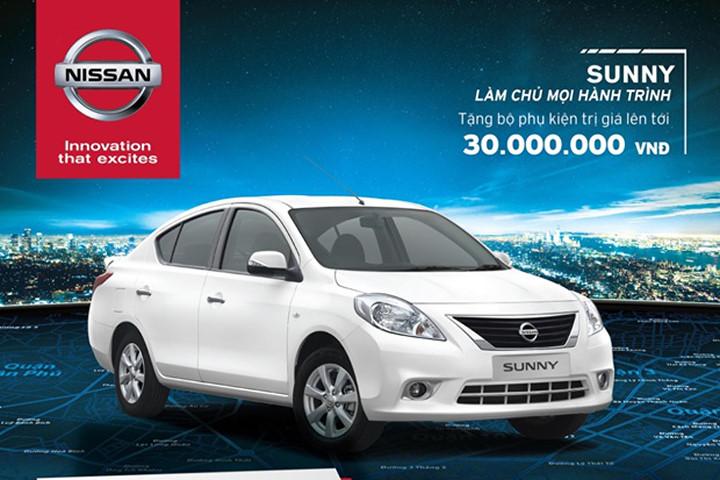 Nissan Sunny : Phiên bản mới giá cạnh tranh - 1