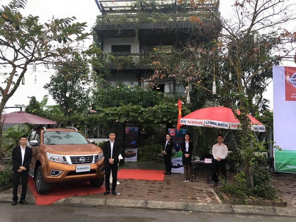 Trải nghiệm xe Nissan X-trail, Nissan Navara và Nissan Sunny cùng Nissan Long Biên