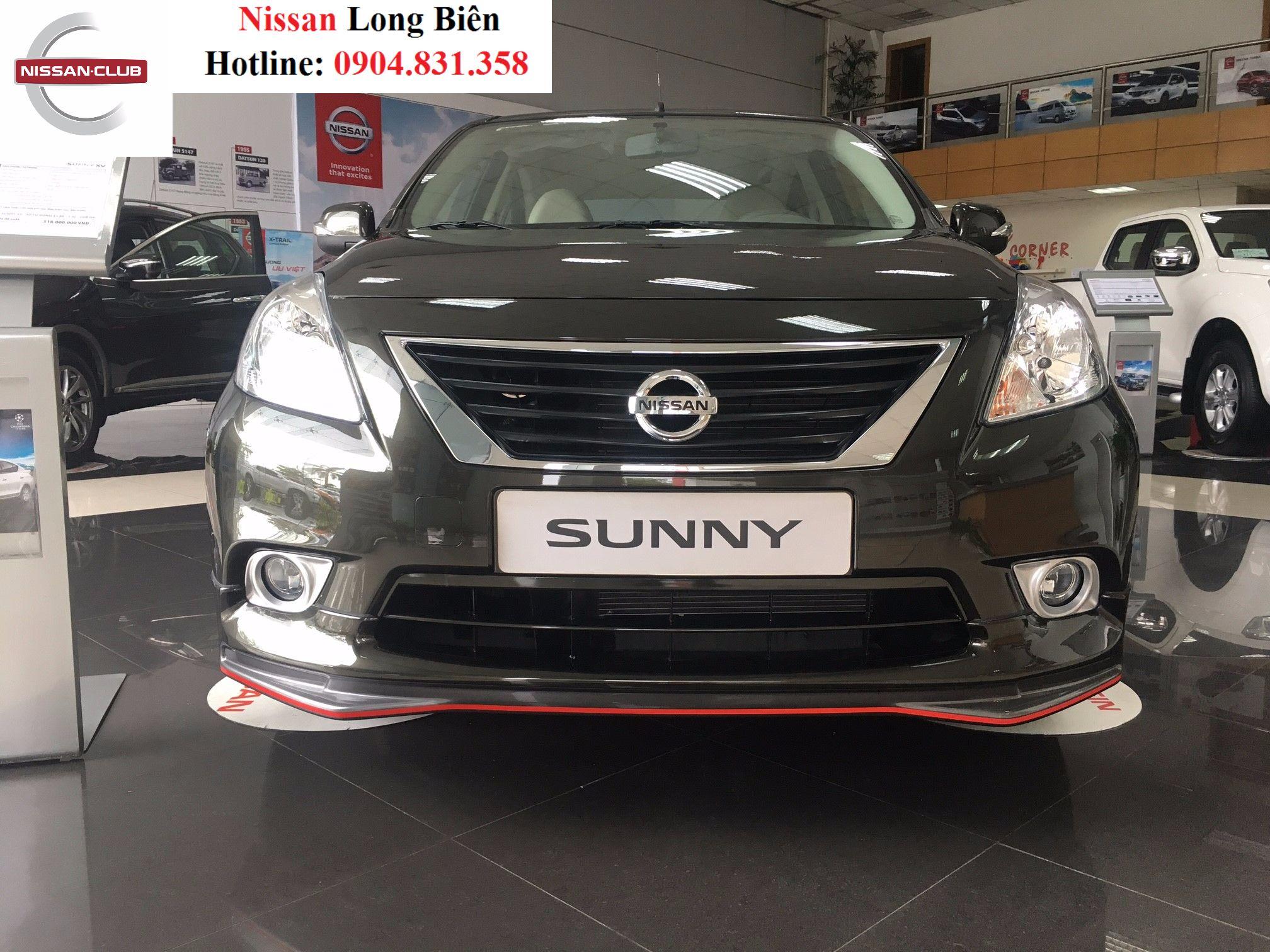 Nissan Sunny XV Premium S: Trẻ trung và thể thao hơn với bộ phụ kiện hoàn toàn mới.