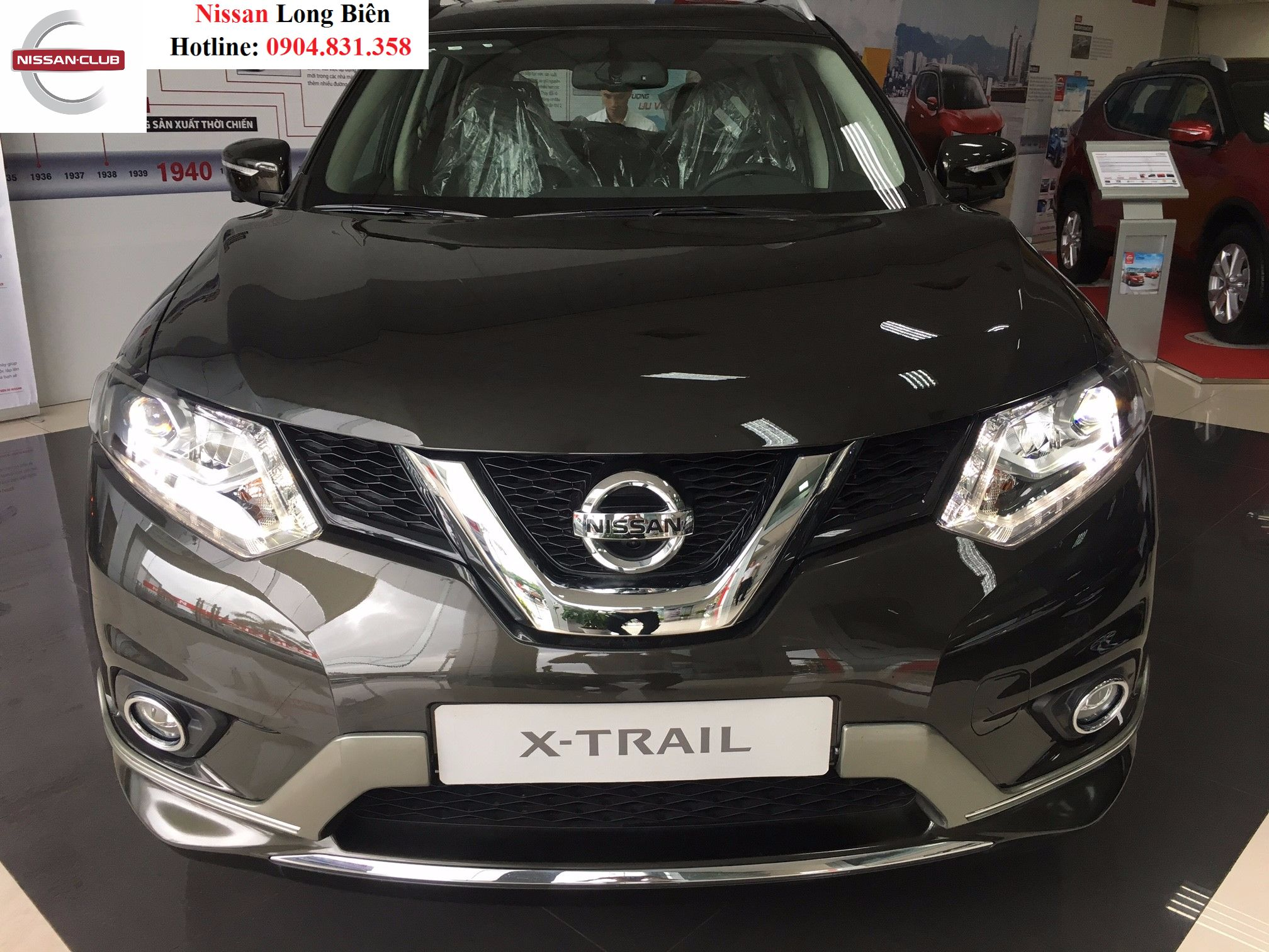 Nissan X-trail 2.5SV và Nissan X-Trail 2.0SL : Nissan chiêu đãi khách hàng bằng cặp đôi Premium L