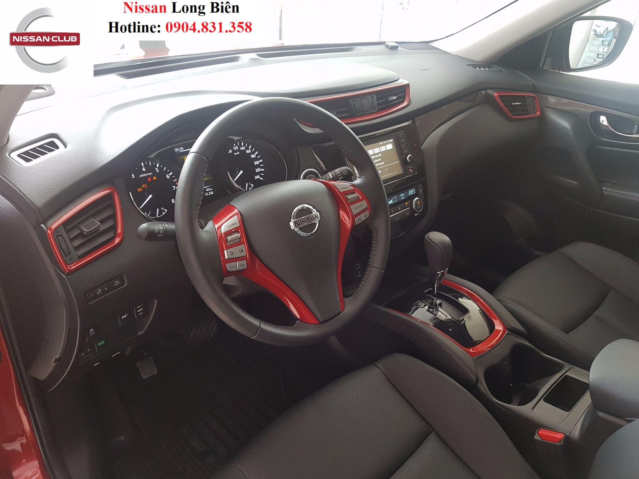 Nissan X-Trail Limited Edition : Phiên bản đặc biệt với sự kết hợp mầu đỏ và đen cao cấp